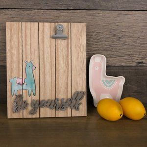 Other - Llama Picture Frame and Trinket Holder-NEW